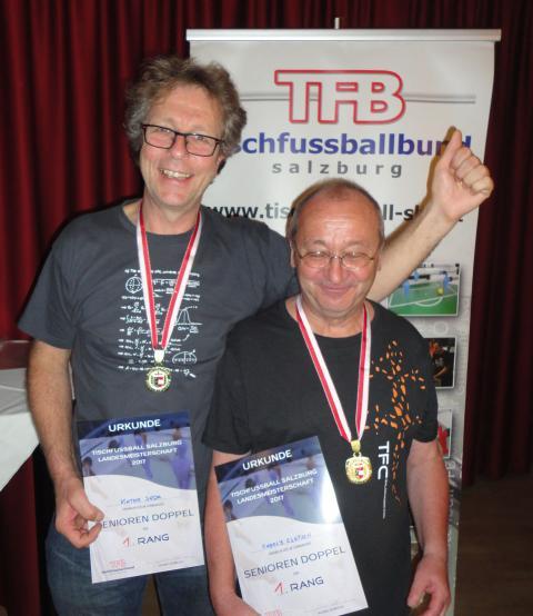 2017 Landesmeister Senioren Doppel